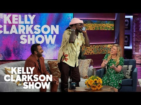 Wale Admits He Gets Down To 'Careless Whisper' By George Michael | The Kelly Clarkson Show