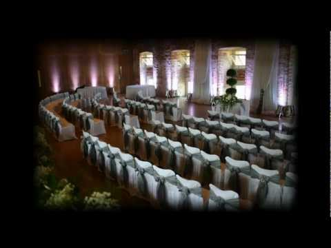Venue paint LED mood lighting system slideshow | Blackjack wedding discos