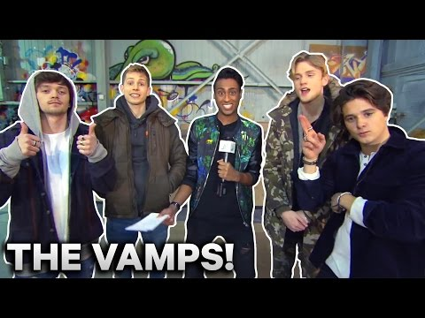 The Vamps and Suki!