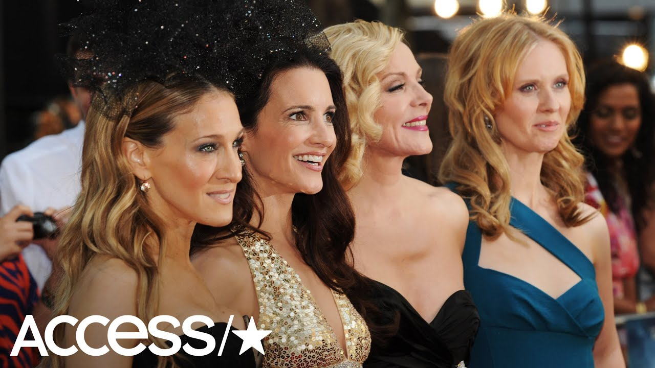 Kristin Davis Shares Emmys Throwback Pic With Her Sex And The City Co Stars Minus Kim Cattrall