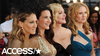 Kristin Davis Shares Emmys Throwback Pic With Her 'Sex And The City' Co-Stars – Minus Kim Cattrall