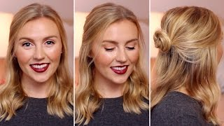 Falling Into Autumn | Makeup + Hair Tutorial