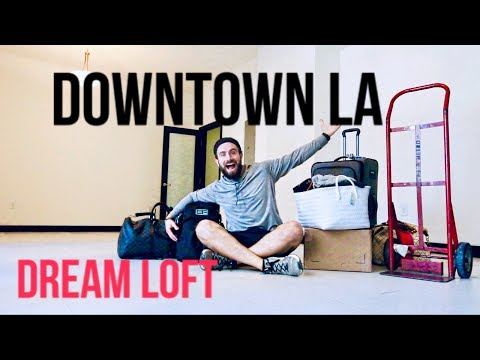 DOWNTOWN LA LOFT Move-in Tour