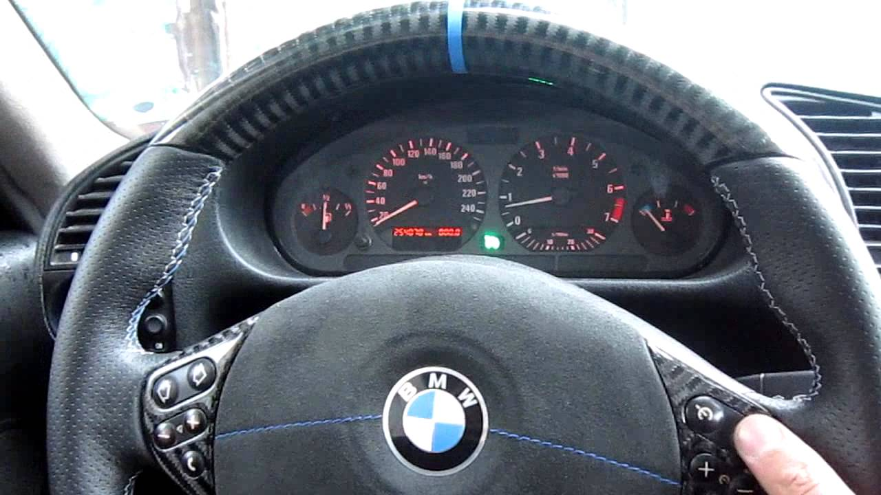 BMW 320I 2016 >> BMW E36 Cruise Control light on instrument cluster - YouTube