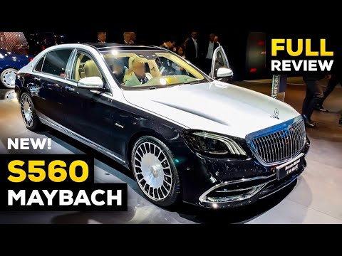 2020 MERCEDES MAYBACH S560 Two-Tone BRUTAL V8 FULL Review Interior Exterior Infotainment