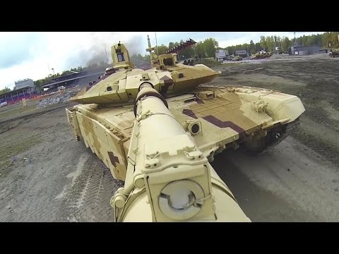 Russia Arms Expo 2013 - Military Assets Live Firing Demonstr