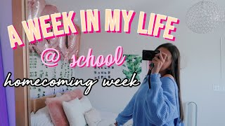a week in my life: high school edition