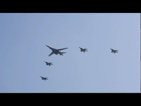 US Flies Jets Over North Korea As Warning