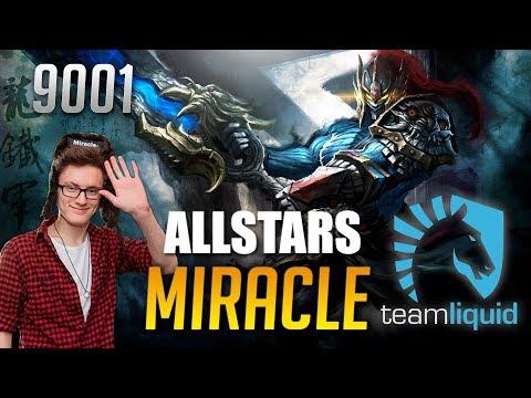 Miracle Rogue Knight ALLSTARS GAME | 9001 MMR Dota 2