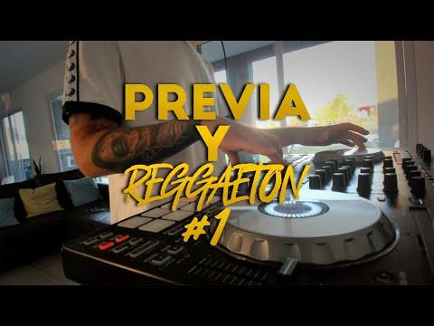 PREVIA Y REGGAETON #1 – Enganchado / Set en vivo – Fer Palacio