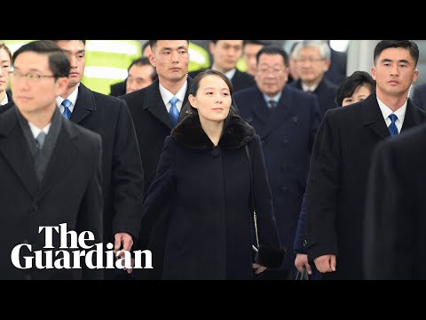 Kim Jong-un's sister heads North Korea's Winter Olympics delegation