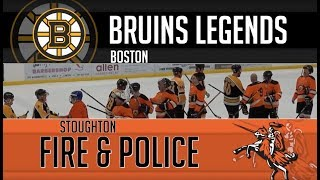 Celebrity Hockey Classic Highlights: Bruins Legends vs Stoughton Fire and Police Departments (2018)