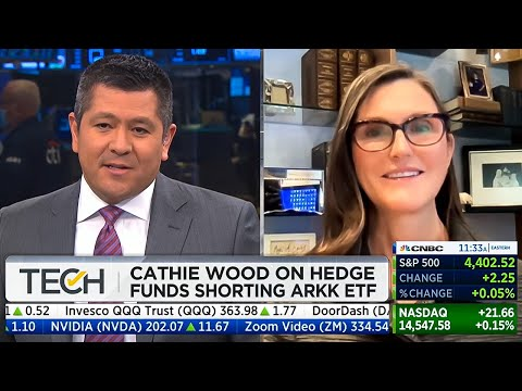 """Cathie Wood Today: """"Don't Think We Are In A Bubble""""    ARK Invest VS Michael Burry"""