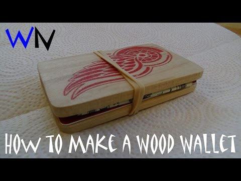 How to Make a Wood Wallet (FAIL)