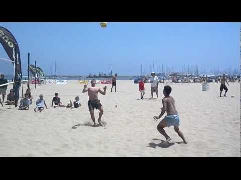 FootVolley in Santa Barbara