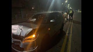 З місця події: під час ДТП у Києві постраждала вагітна жінка