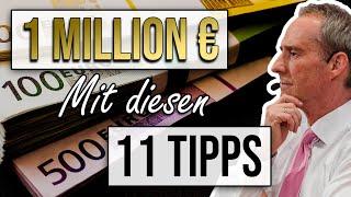 Wie Du SICHER 1 Million € VERDIENST mit diesen 11 Marketing Tipps