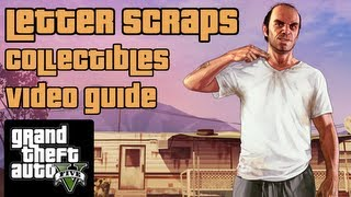 GTA 5 - All Letter Scraps Collectibles (100% Completion) -