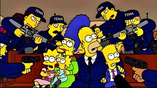 The Simpsons FEMA Warning