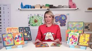 Методичні рекомендації до іграшці Тетріс WoodlandToys