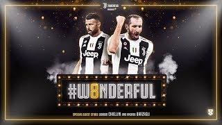 The special guest stars of Juventus' #W8NDERFUL: Giorgio Chiellini & Andrea Barzagli