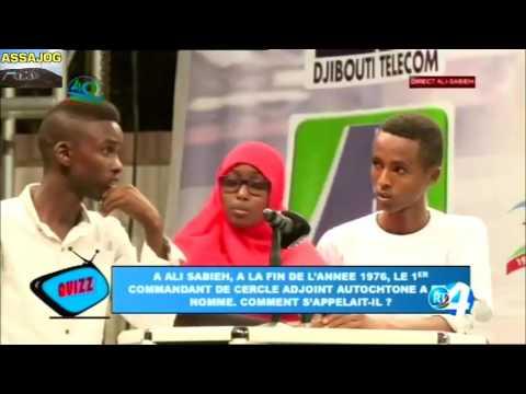 Djibouti: QUIZ pour le 50e anniversaire de la RTD à Ali Sabieh