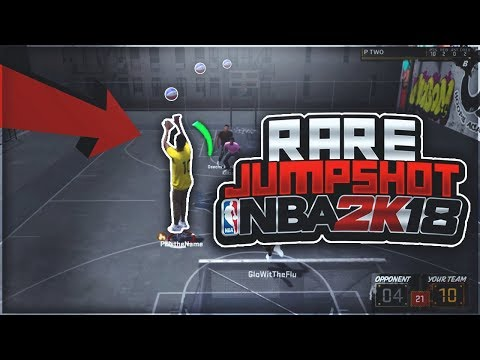 ONLY 1% KNOW ABOUT THIS RARE JUMPSHOT! THE BEST JUMPSHOT FOR ALL BUILDS ON NBA 2K18