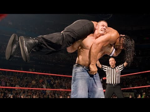 John Cena vs. The Great Khali vs. Umaga - WWE Championship Match: Raw, June 4, 2007 thumbnail