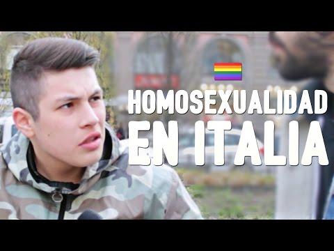 HOMOSEXUALIDAD en Italia
