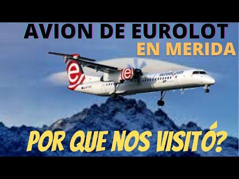 Bombardier Q 400 en Merida Venezuela