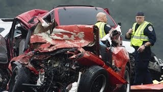 At least 11 killed in wrong-way driver crash in California