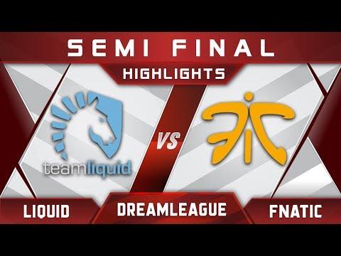 Liquid vs Fnatic Semi Final DreamLeague 9 Minor 2018 Highlights Dota 2