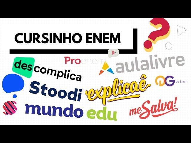 Qual cursinho/plataforma escolher para estudar para o ENEM 2019?