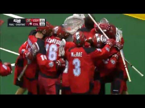 NLL: Dane Dobbie ends longest playoff game in league history as Calgary Roughnecks advance