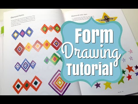 HOW I TEACH FORM DRAWING | REAL TIME!