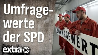 Umfragewerte der SPD – der tiefe Fall