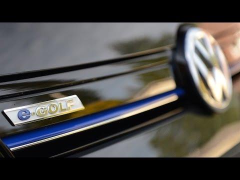 VW E-Golf first Drive