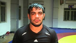 Indian World Champion wrestler Sushil Kumar on