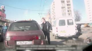 RUSYA-Trafik kavgaları #7
