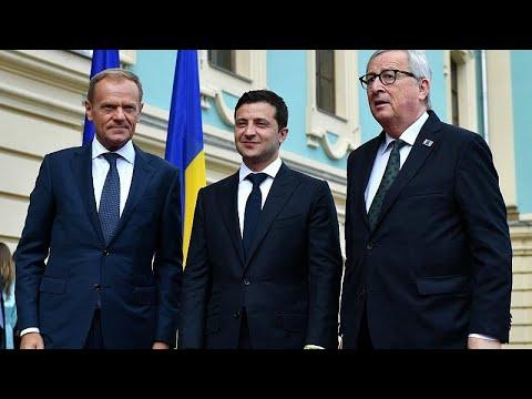Саммит Украина-ЕС в Луганской и Киеве