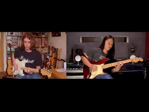 Steven Agnew Rockschool UK Examiner & Zendhy Kusuma