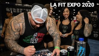 LA FIT EXPO 2020 | INSANE TURNOUT | AIN'T NOTHING LIKE A STRENGTH CARTEL PARTY