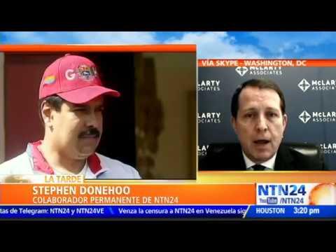 """""""No hay duda de que Venezuela está apoyando y encubriendo acciones de organizaciones terroristas"""""""