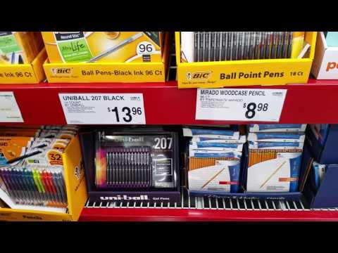 A quick look at Sam's Club office supplies...