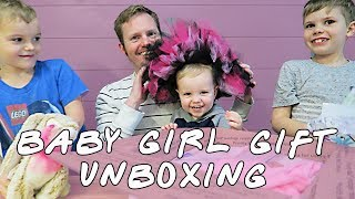 Baby Girl Gift Unboxing