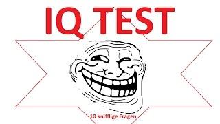 IQ TEST - 10 knifflige Fragen