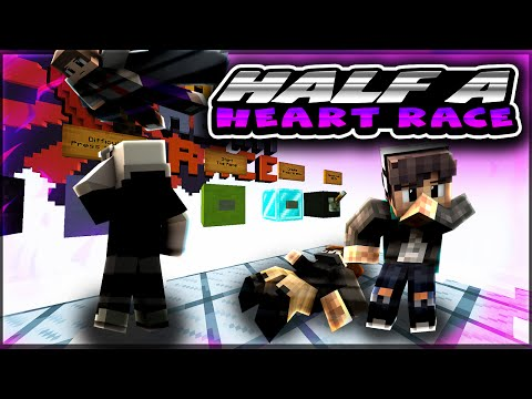 Minecraft Parkour Map | Half A Heart Είμαι High!!