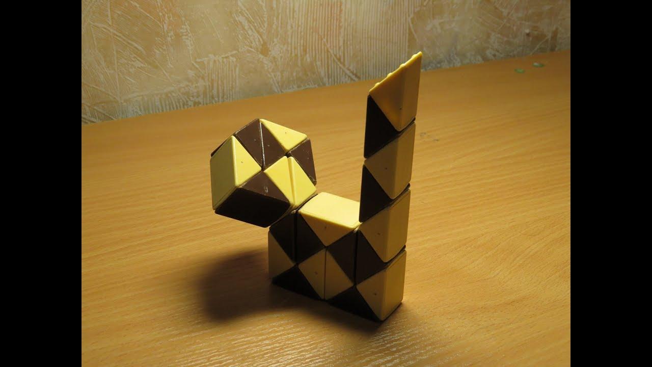 змейка рубика схема трехлистника