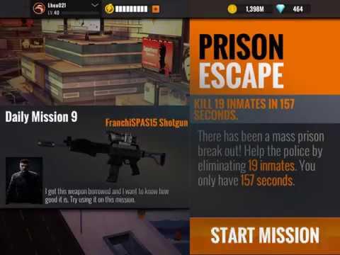 Sniper 3D Los Alves Daily Mission #9 Prison Escape