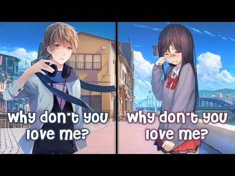 Nightcore - Why Don't You Love Me (Switching Vocals)